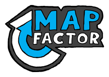 Map Factor Logo